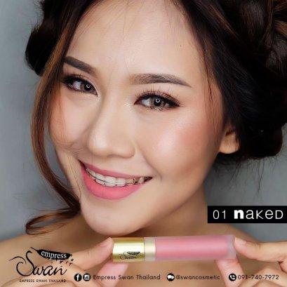 Empress swan Velvet matte Lip #01 Naked