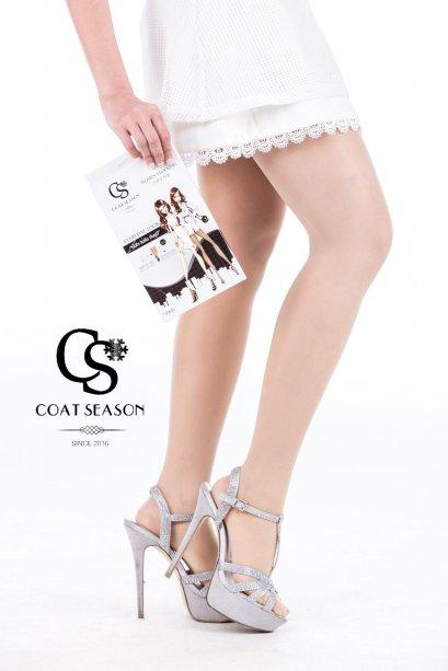 Coat Season ถุงน่อง #สีขาวเบจ Nude Beige