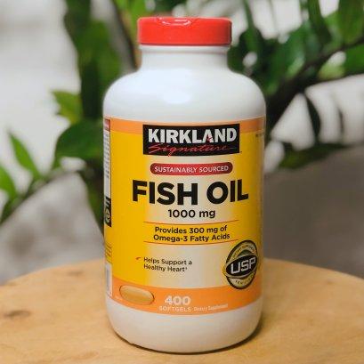 Kirkland Signature Fish Oil 1000mg 400 softgels