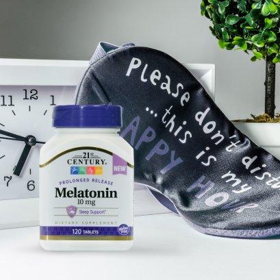 21st Century Melatonin 10 mg Prolonged Release 120 Tablets