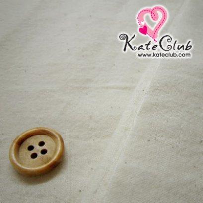 ผ้าดิบ สำหรับเย็บตัวตุ๊กตาคันทรี **เนื้อนุ่ม เนื้อผ้าจะยับๆ หน่อยนะคะ (1/2 หลา = 90 x 73 cm)