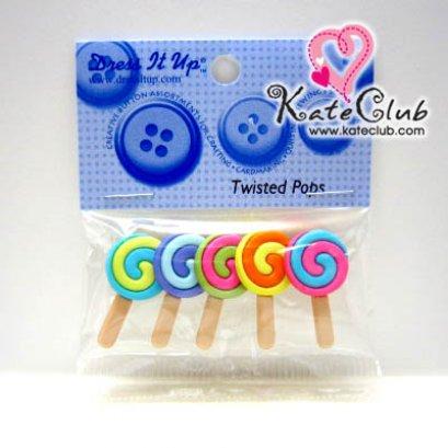 กระดุม Lollipop - 2253