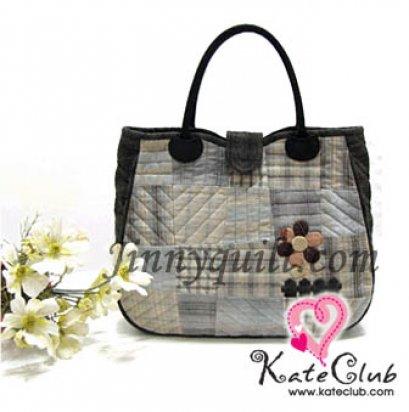 ชุดอุปกรณ์เย็บกระเป๋า Patchwork Tote Bag By JinnyQuilt