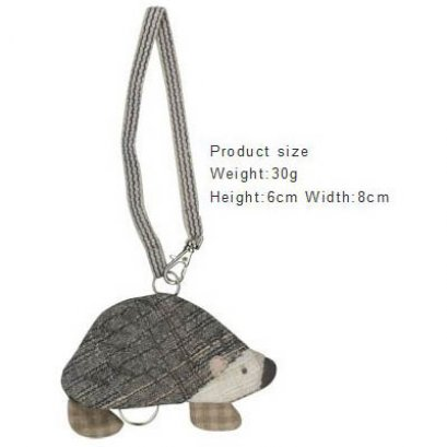 SALE - ชุดอุปกรณ์เย็บที่เก็บกุญแจ Hedgehog Key holder By Yoko Saito