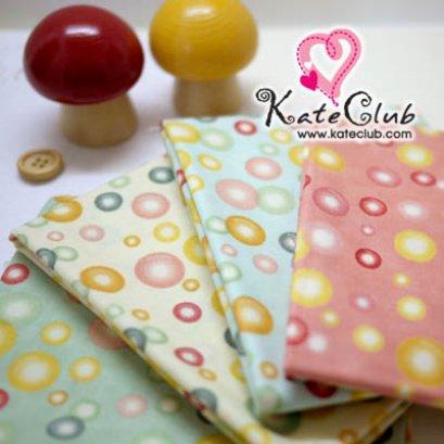 SALE - ผ้า Cotton อเมริกา MODA - ลาย Color Bubble (ตัดขาย 1/4 หลา=45x55cm)