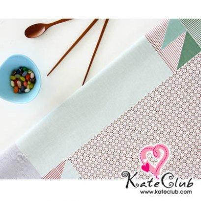 SALE - ผ้าบล็อค Cotton - ลาย Daily Atelier Pattern (1 บล็อคขนาด 90x140cm)