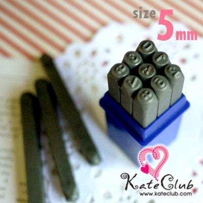 Stamp Tag เหล็กตอกตัวเลข 0-9 ขนาด 5 mm