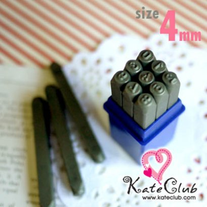 Stamp Tag เหล็กตอกตัวเลข 0-9 ขนาด 4 mm