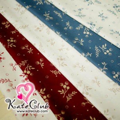 (เหลือแค่ เส้นสีแดง ค่ะ) ผ้า Cotton คุณมาซาโกะ No.61 (1/4 เมตร) **คลิกเลือกสีด้านใน