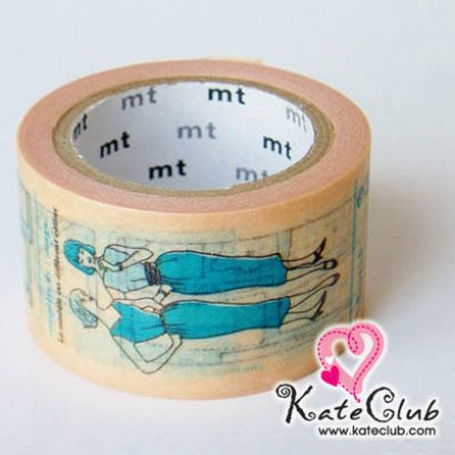 SALE - Limited Edition mt Japanese Washi Masking Tape-Sewing Pattern 25mm - สินค้ามือ 1