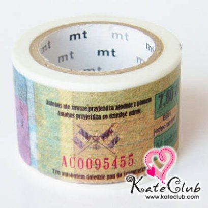 SALE - Limited Edition mt Japanese Washi Masking Tape-Tickets30mm - สินค้ามือ 1