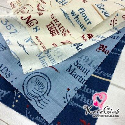 ผ้า Cotton American Country 2015 คุณมาซาโกะ No.75 (1/4 เมตร) **คลิกเลือกสีด้านใน