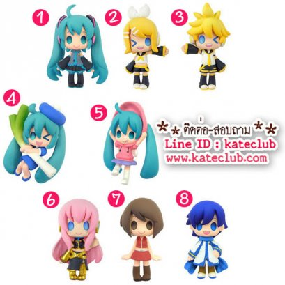 (พร้อมส่ง 1 กล่อง) Color Colle - Miku Hatsune ยกเซท (ความสูงประมาณ 4 cm)