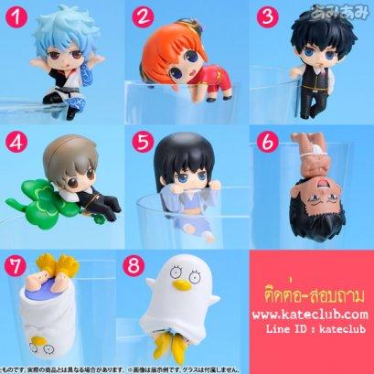 (พร้อมส่ง No.1, 3-8) ตุ๊กตาเกาะแก้ว - Gintama Choito Ippuku Shimasenka