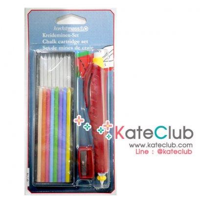 ดินสอเขียนผ้า พร้อมไส้ดินสอ และกบเหลา จาก Germany