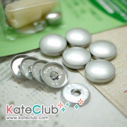 (16mm หมดค่ะ) อะไหล่กระดุมปั๊ม กระดุมผ้า Home Covered Buttons *มี 6 ขนาดให้เลือก (คลิกเลือกขนาดด้านใน)