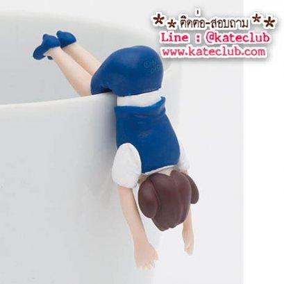 (พร้อมส่งเบอร์ 2) สาวน้อยเกาะแก้ว Cup no Fuchiko Series 3 - สีน้ำเงิน