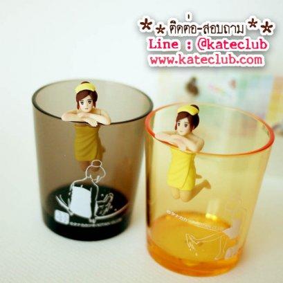 (หมดค่ะ) สาวน้อยเกาะแก้ว Fuchiko Onsen Color มาพร้อมแก้วพลาสติกใบเล็ก