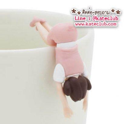 (พร้อมส่งเบอร์ 2) สาวน้อยเกาะแก้ว Cup no Fuchiko Series 3 - สีชมพู