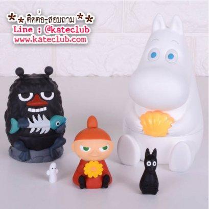SALE - (พร้อมส่ง 1 เซทค่ะ) ตุ๊กตาแม่ลูกดก Moomin Matryoshka (ความสูง 14.5 cm)