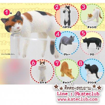 (พร้อมส่งเบอร์ 4,6,7,8 และแบบยกเซท) ตุ๊กตาเกาะแก้ว PUTITTO Cat (ความสูงประมาณ 3-3.5 cm)