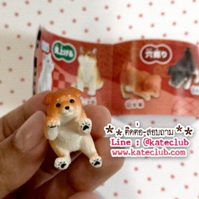 กาชาปอง - สุนัข (ขนาด 3x2.4 cm)