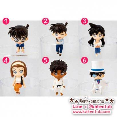 (พร้อมส่ง No.5 และแบบยกเซท) ตุ๊กตาเกาะแก้ว PUTITTO Detective Conan Deforme ver.3 (ความสูงประมาณ 4-5 cm)