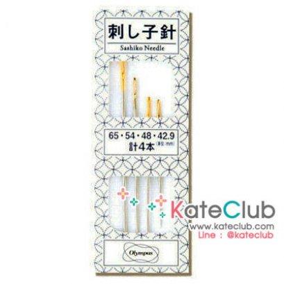 เข็มปักผ้า Sashiko แบบรวม ซองขาว (มี 4 เล่มจ้า)