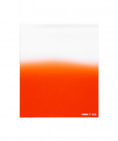 ฟิลเตอร์แผ่น Gradual Fluo Red 2 Soft - ขนาด M (P series) - COKIN CREATIVE