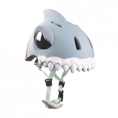 Crazy Stuff White Shark Helmet