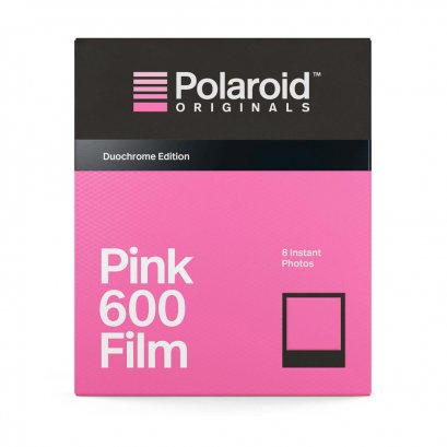 Black & Pink Film For 600 Duochrome