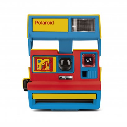Polaroid 600 MTV Stereo Cam Instant Camera (Limited Edition from '90s)