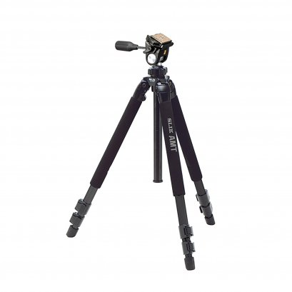 SLIK Pro 500EZ Tripod with SH-707E multi-action Pan Head