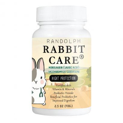 RABBIT CARE MONOLAURIN (LAURIC ACID) SACCHAROMYCES CEREVISEAE