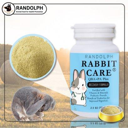 แรบบิทแคร์สูตร QBA+PA ฟื้นฟูกระต่ายป่วย ช่วยลดอาการปวด