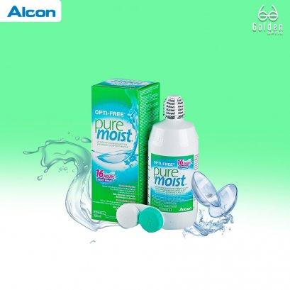 น้ำยาแช่คอนแทคเลนส์ - Opti Free Pure Moist 300 Ml.