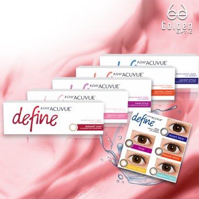 คอนแทคเลนส์ แอคคิววิว ดีไฟน์  - Contact Lens Acuvue Define