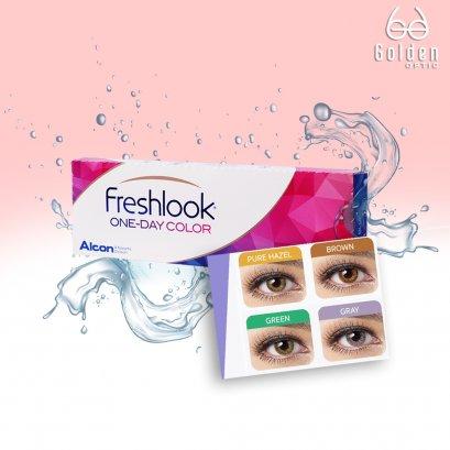 คอนแทคเลนส์รายวันแบบสี เฟรชลุค - Freshlook 1 Day Colors  Contact Lens