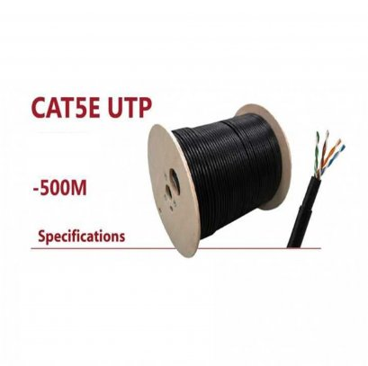 CAT5E UTP Double jacket + Sling ขนาด 500 เมตร