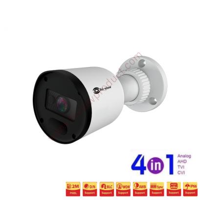 HA-924B202 กล้องวงจรปิดไฮวิว 2 ล้านพิกเซล ใช้งานภายนอกและภายใน (Hiview Bullet Camera 2 MP 4 in 1)
