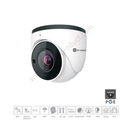 HP-97D20VPE กล้องวงจรปิดไฮวิว ระบบไอพี 2 ล้านพิกเซล ใช้งานภายใน Hiview Dome IP Camera PoE 2 MP