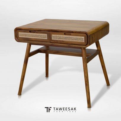 โต๊ะทำงานผสมหวาย AT041