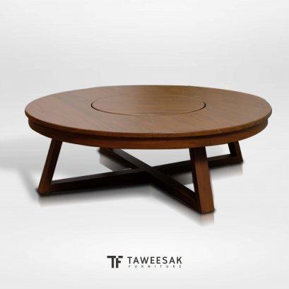 โต๊ะอาหารไม้สักญี่ปุ่น DS073
