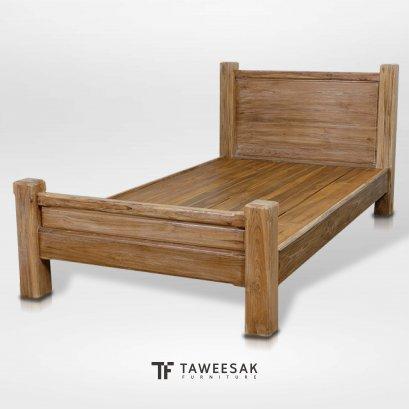 เตียงไม้สัก BE060