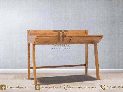 โต๊ะทำงานไม้สัก AT023