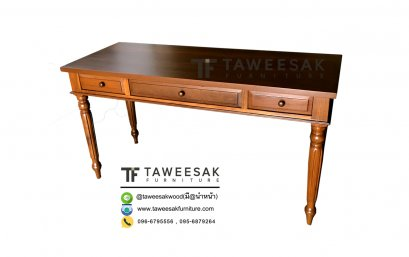 โต๊ะทำงานไม้สัก AT012