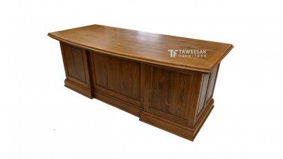 โต๊ะทำงานไม้สัก AT008