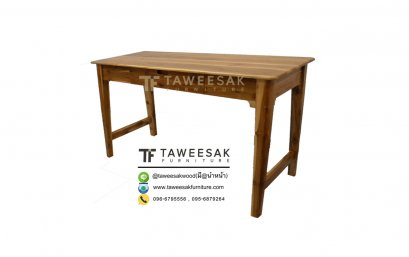 โต๊ะทำงานไม้สัก AT013