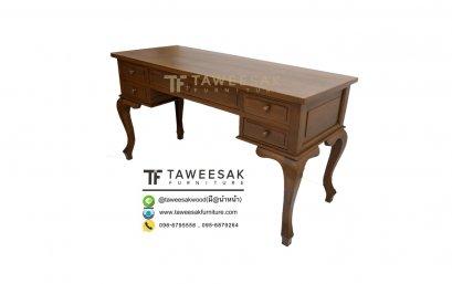 โต๊ะทำงานไม้สัก AT015