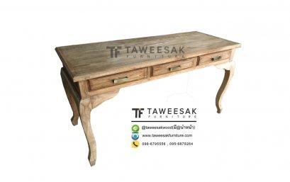 โต๊ะทำงานไม้สัก AT020